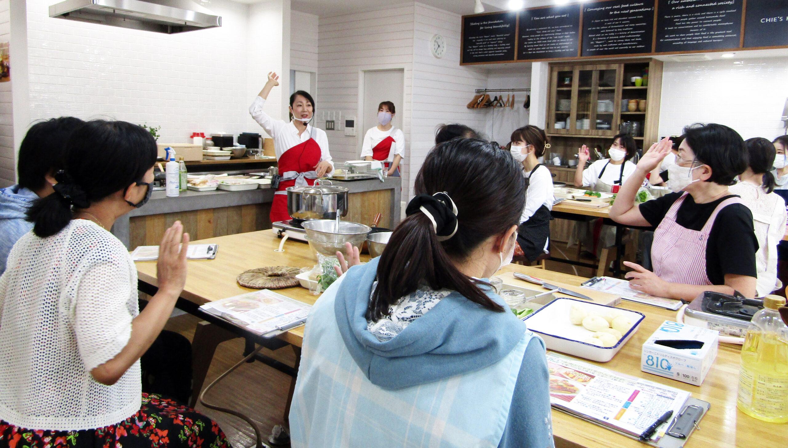 【お知らせ】10/29開催「第2回ショクブン×CHIE'S KITCHEN 共同料理教室」