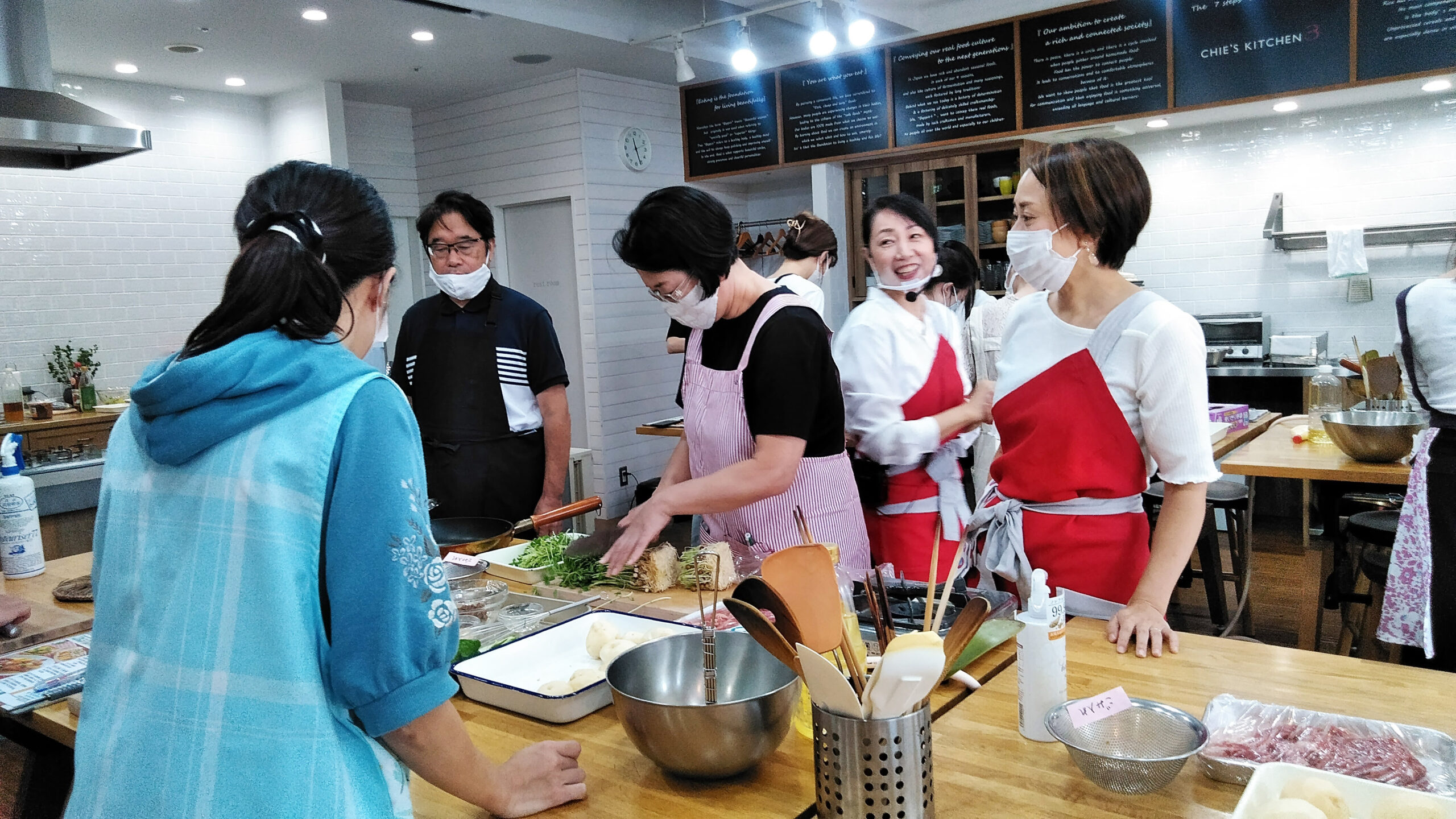 【イベント報告】第1回ショクブン×CHIE'S KITCHEN 共同料理教室開催♪